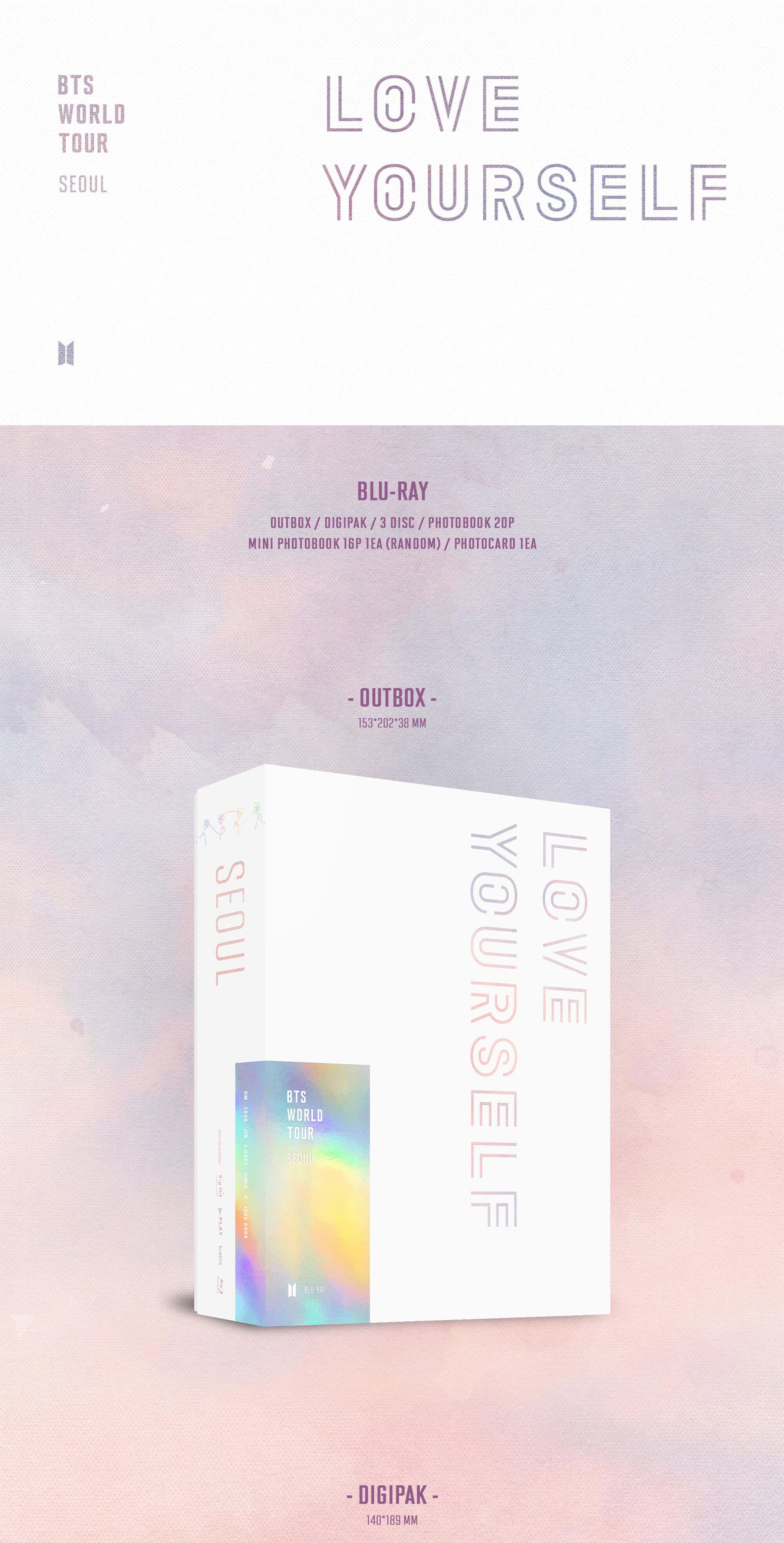 BTS LOVE YOURSELF SEOUL Blu-ray