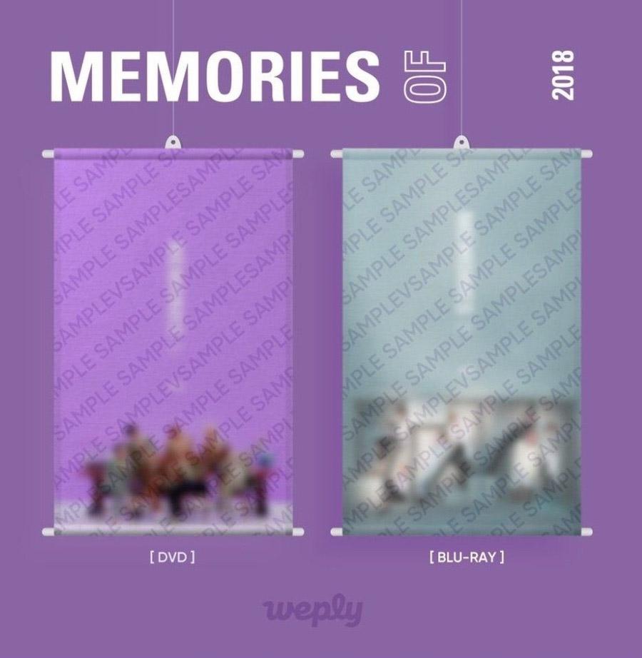 BTS Memories Of 2018 DVD (4 DISC)