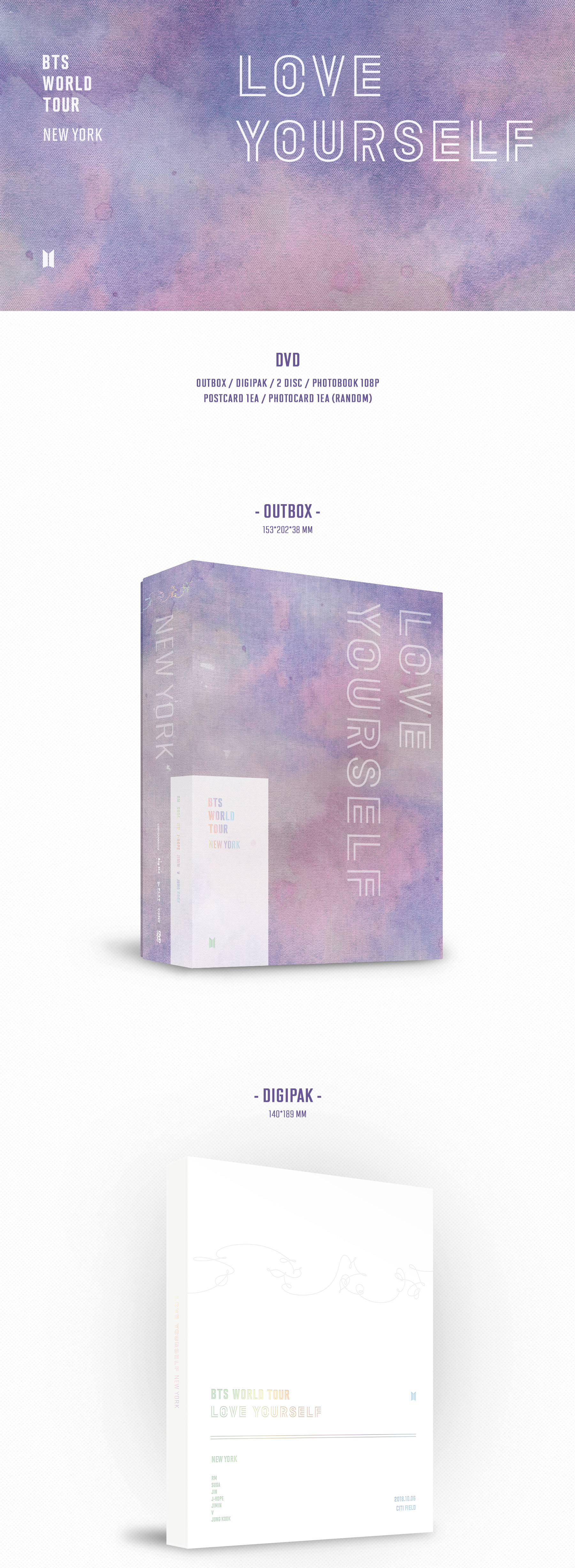 Bts love yourself tour dvd