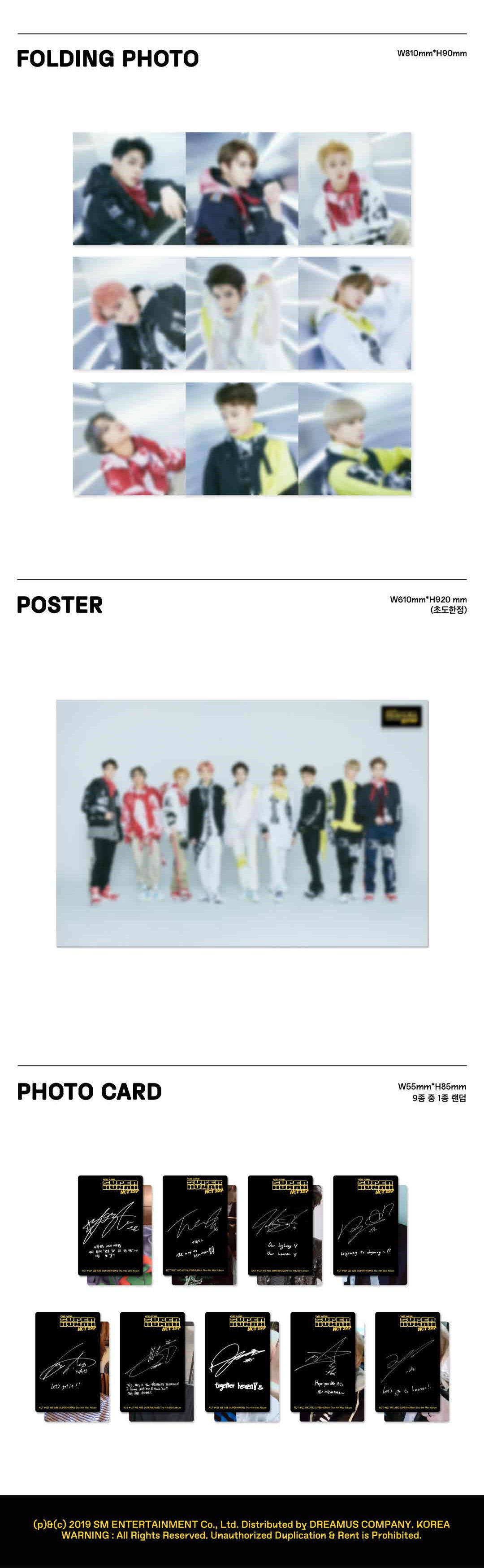 [KIHNO] NCT 127 4th Mini Kihno Album - WE ARE SUPERHUMAN Kihno Kit
