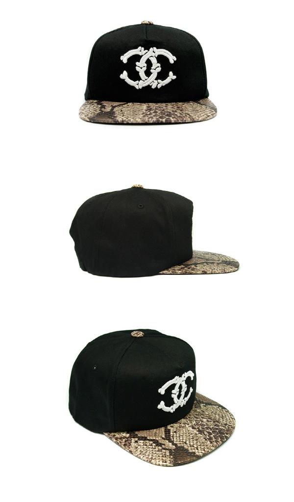 GIGIO  Skull Snapback   Snake Leather   SNSD Tiffany Style 84ddfd3eb9b