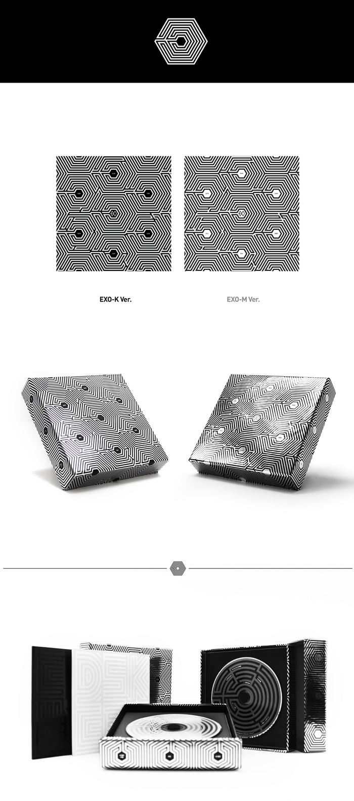 Exo M 2nd Mini Album 上瘾 Overdose Cd