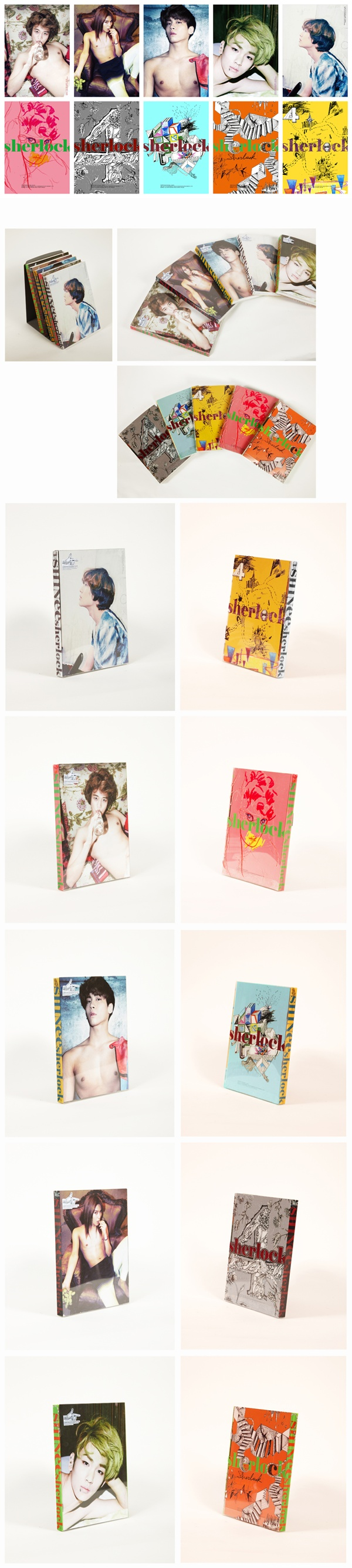 SHINEE 4th Mini Album Sherlock CD