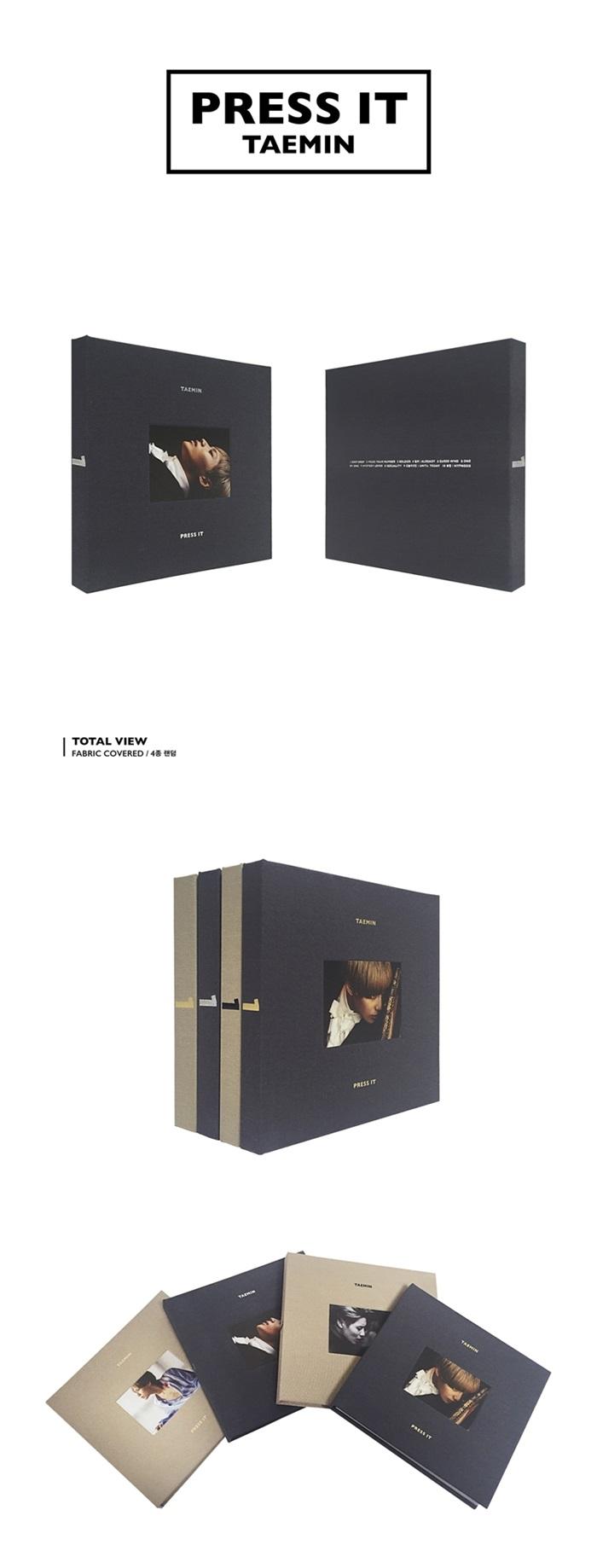 [Random Cover] SHINEE TAEMIN 1st Album - Press it CD