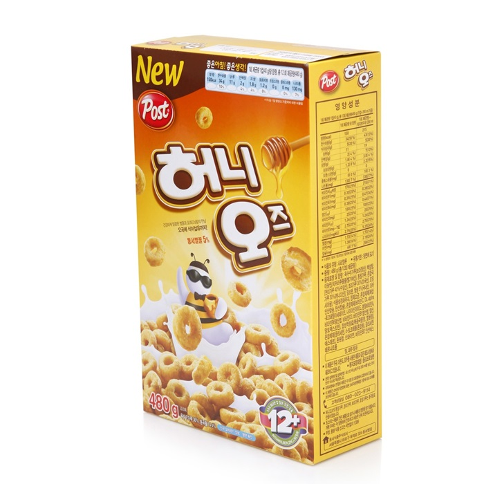 Post Honey O's Cereal 480g