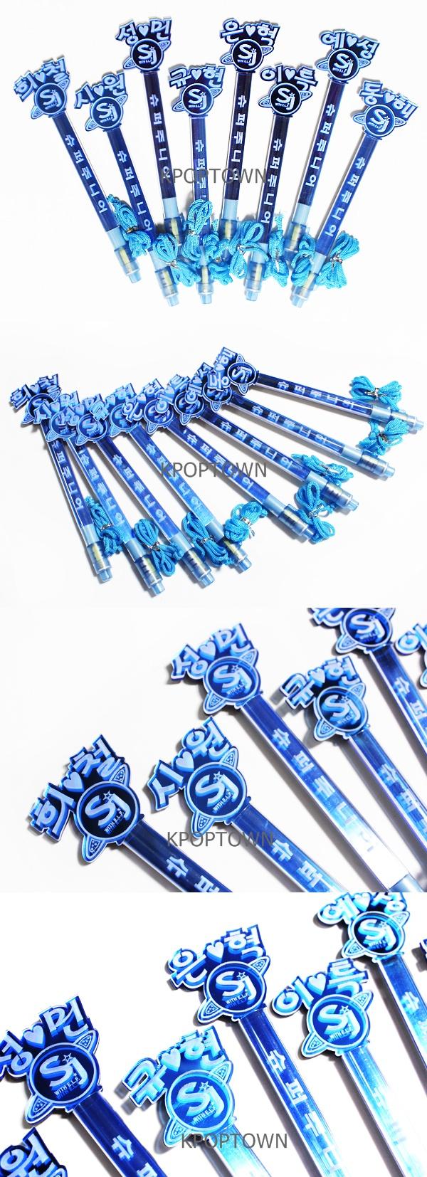 Super Junior Luxury Character PLUS Straight Light Stick