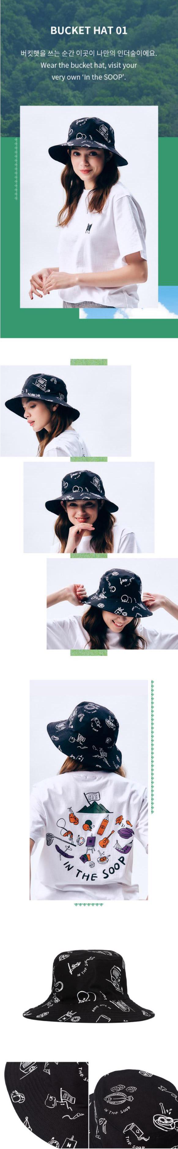 Bts In The Soop Goods Bucket Hat