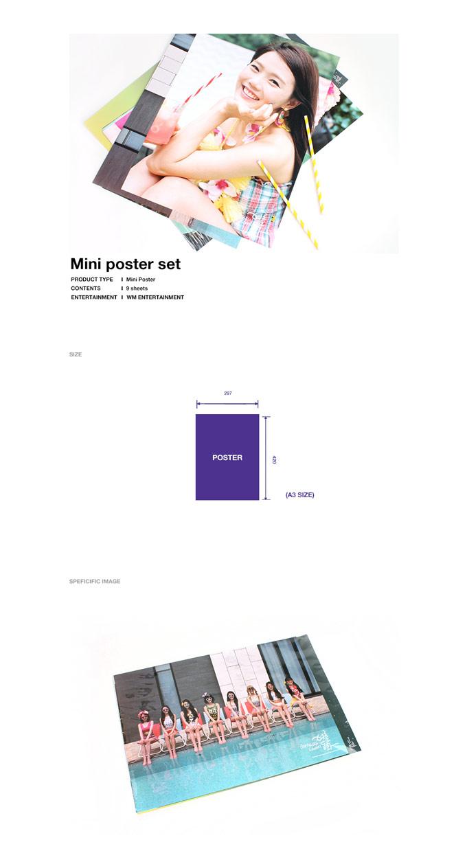 Mini poster size