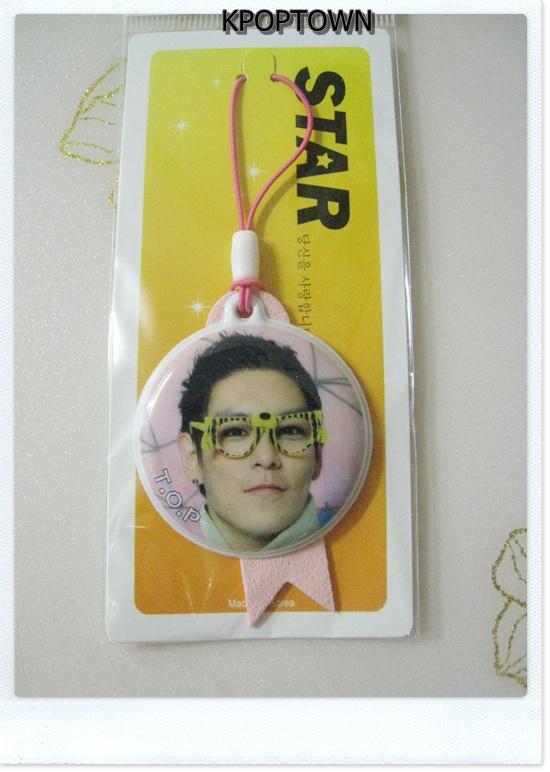 Mirror Type Luxury Mobile Strap Of BIGBANG big bang TOP