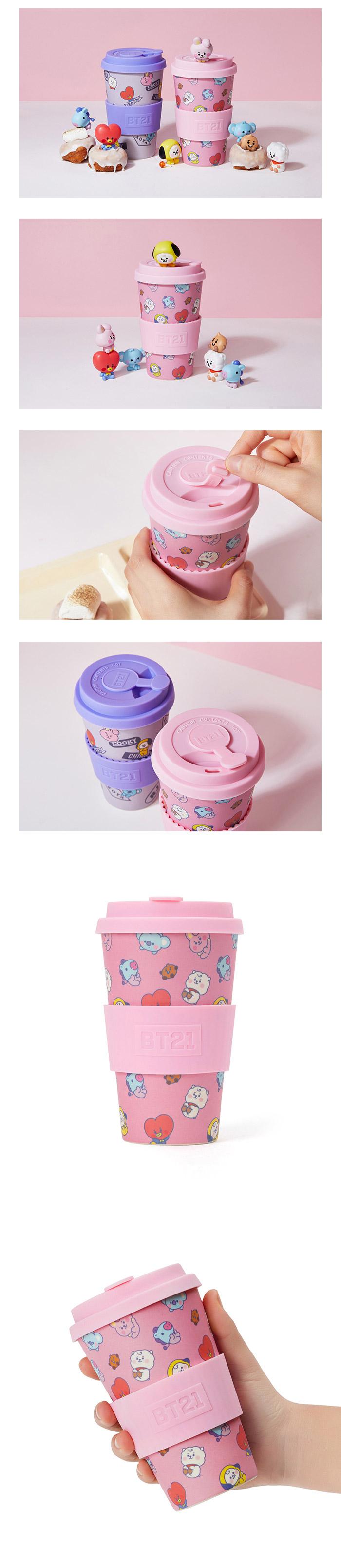 BT21] BTS Line Friends Collaboration - Baby Reusable Cup